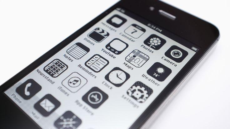 1986 iPhone Interface