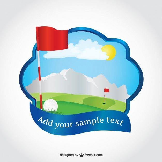 golf editable