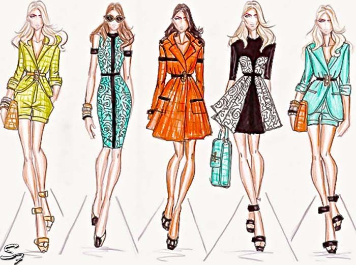 fashion sketches a collection of ideas to try about other