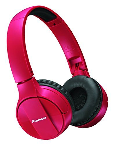 Pioneer Bluetooth Lightweight On Ear Wireless Stereo Headphones Red SEMJ553BTR ** Continue to the product at the image link. (This is an affiliate link and I receive a commission for the sales) #BestHeadphones