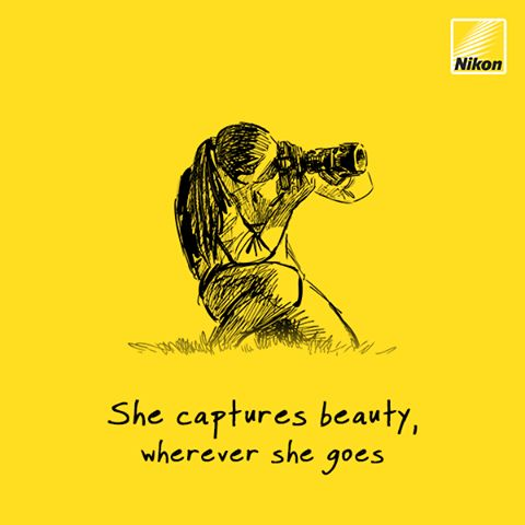 Here's to all the beautiful women who make this world a better place to live in. ‪#HappyWomensDay‬  Credit :- Nikon