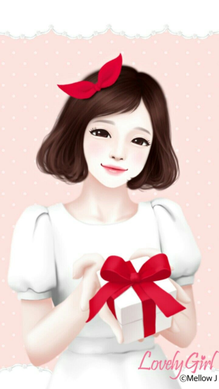 Enakei Lovely Girl Pinterest Korean Illustration Girl Wallpaper And Korean Anime