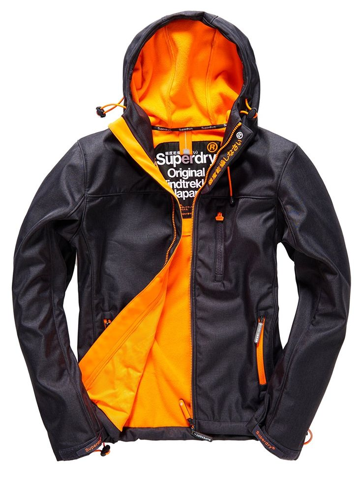 SUPERDRY Herren Regenjacken Hooded Windtrekker: Amazon.de: Bekleidung