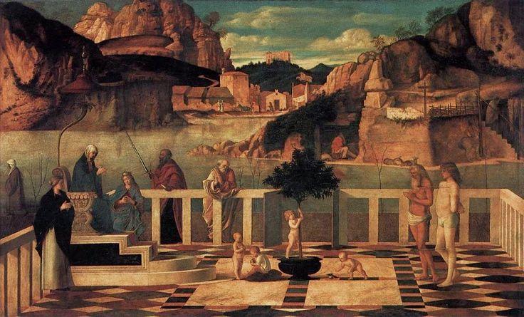 Allegoria sacra (1490-1504 circa; Firenze, Uffizi)