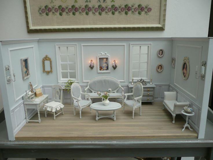 Gustavian reception room, Les Carnets de l'Atelier Blondie