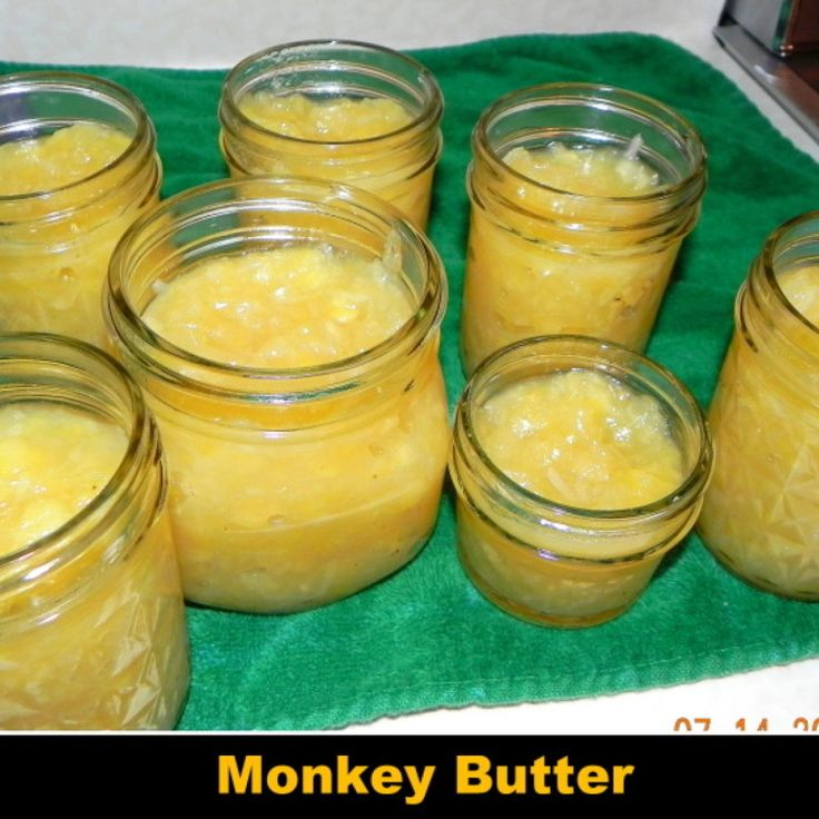 Monkey Butter (coconut, banana & pineapple jam)