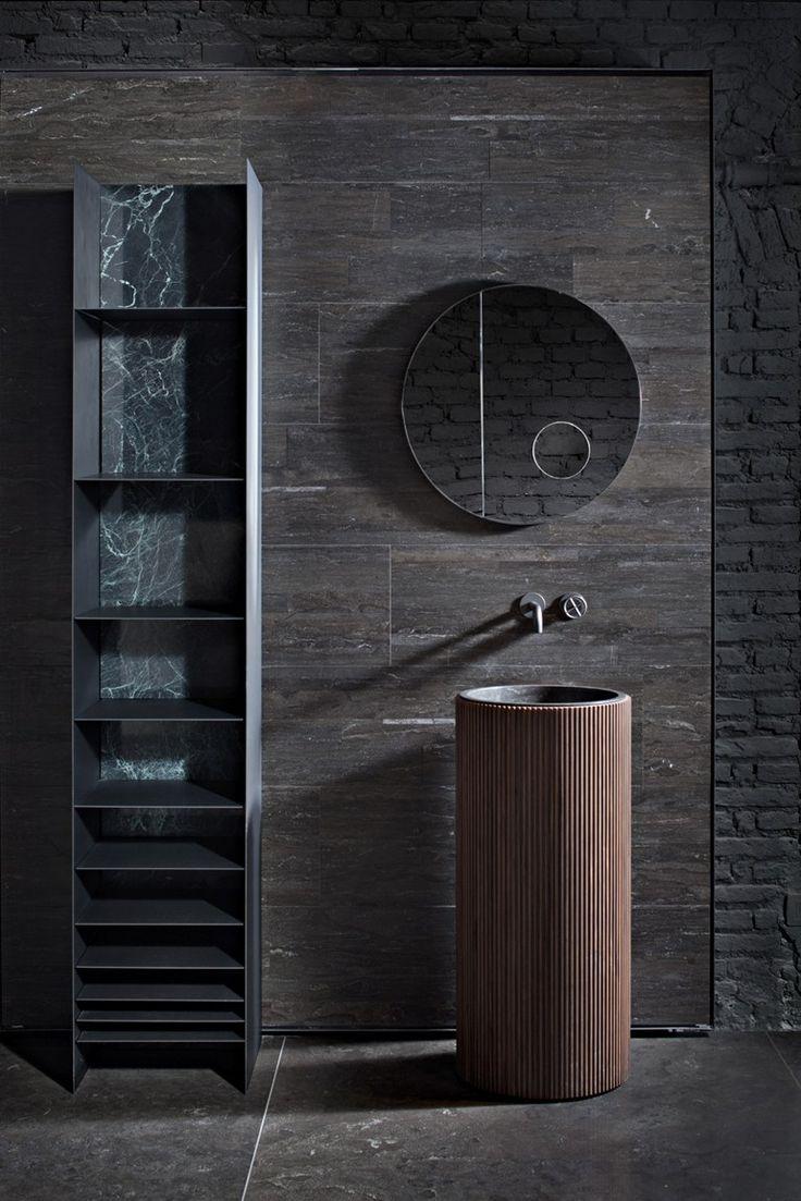 Freestanding round washbasin ADDA | Freestanding washbasin by SALVATORI