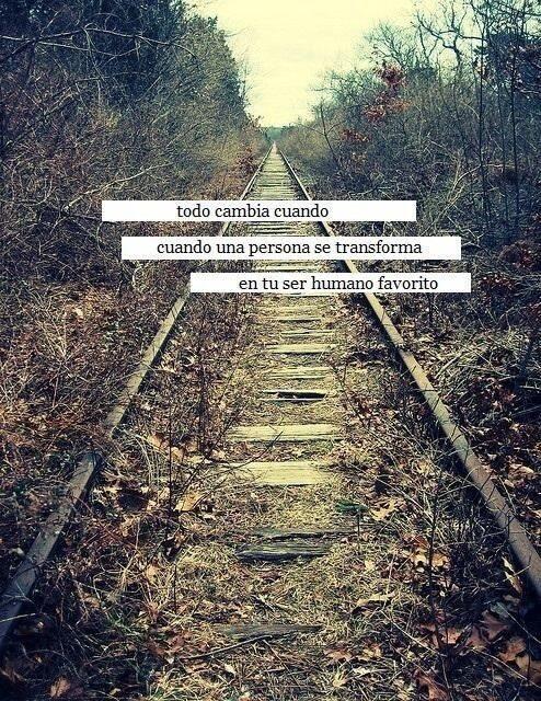 Cuando llega el amor también se transforma un corazón.