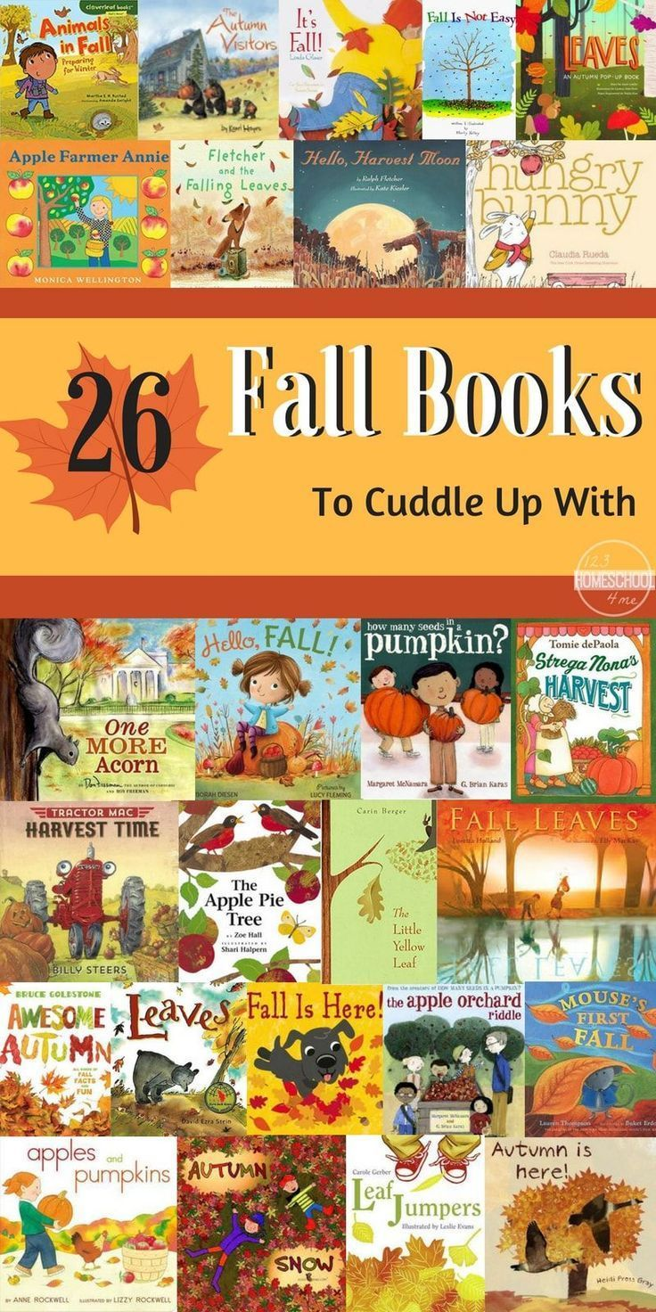 26 Fall Picture Books to Cuddle Up With | October | Toddler