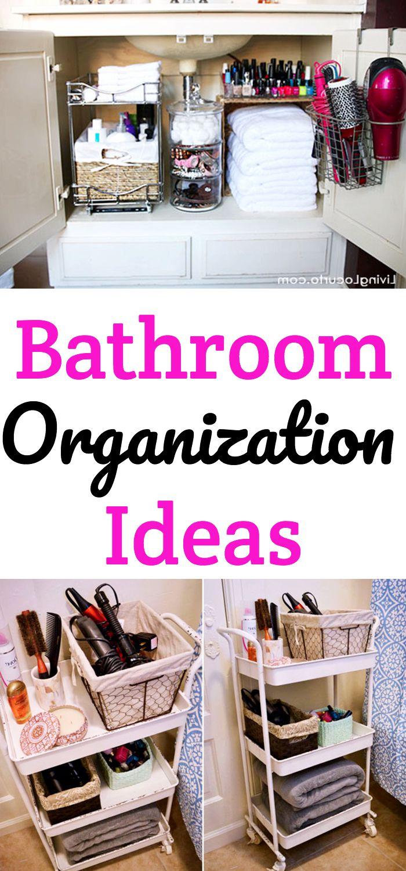 Bathroom Organization Get Organizing Ideas For Restroom Including Small Apartment Organizati Apartment Room Bathroom Organization Small Apartment Organization