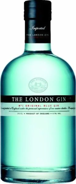 The London Gin No. 1 Original Blue Gin 47% 0,7 Liter - Eine Sünde wert