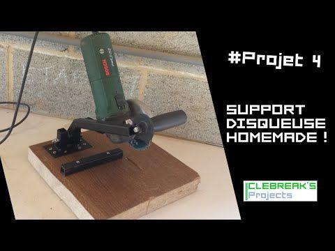 Bricolage : Modification d'une meuleuse d'angle, facile à réaliser en bois de récup ….. Kastepat - YouTube