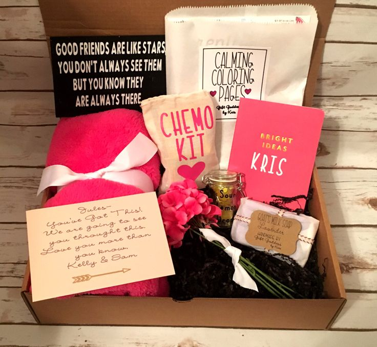Chemo Care Package Chemo Gift  Custom Gift Chemotherapy Gift  Cancer Gift Cancer Care Package. Friend with Cancer Gift  Personalized Chemo by GiftgoddessByKris on Etsy