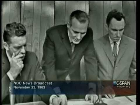 NBC News Live Coverage of The Assassination of President Kennedy Part 1 - YouTube