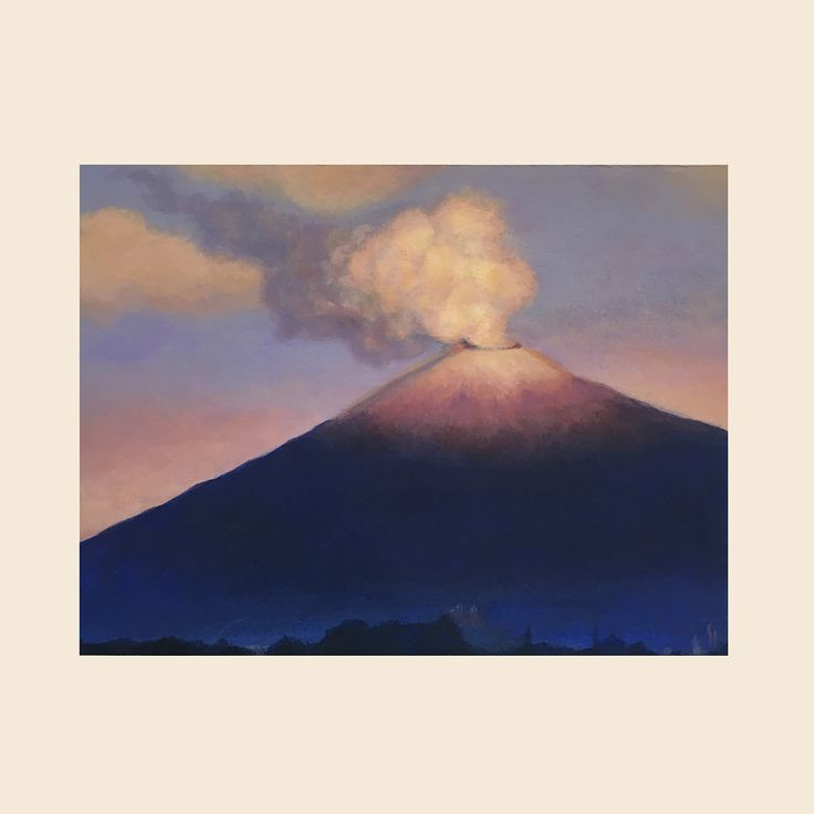 Landscape practice. Popocatépetl. . . . . #pintura #paiting #art #arte #artwork #acrilico #dibujo #drawing #instaart #canvas #volcano #volcan #popocateptl #mexico #hechoenmexico #cdmx #illustration #ilustracion #illustrator #creative #instagood