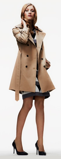 you don't need anything else for office wear if you have this harper trench coat ++ club monaco