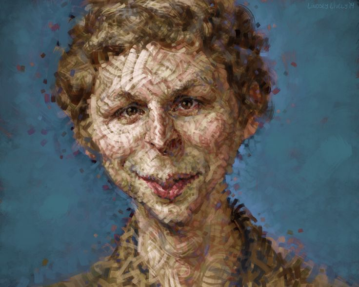 Digital Painting of Michael Cera.  Stylized portrait illustration by Lindsey Lively.  Watch the process video here: http://youtu.be/uQzIULpxflk
