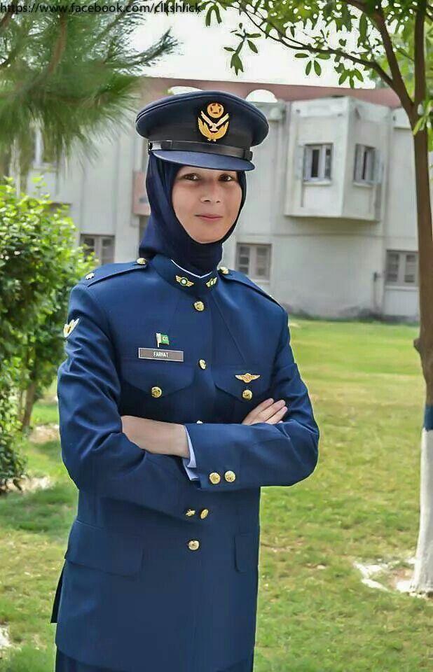 Pakistan Pilot officer Farhat Shabbir Hussain