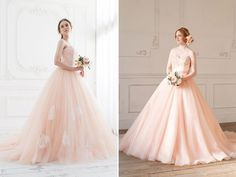Peach Is The New Pink! 30 Sweet and Romantic Peach Gowns You Must See!