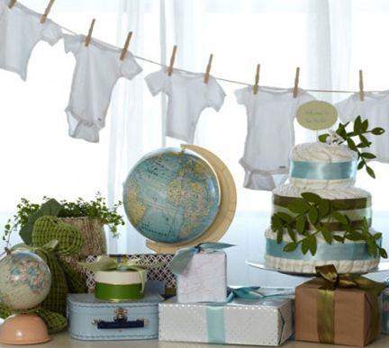 Travel Baby Shower