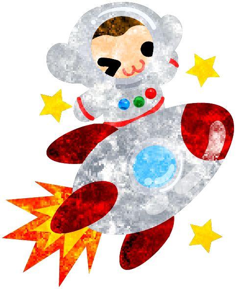 フリーのイラスト素材宇宙飛行士の姿をした可愛いお猿さん  Free Illustration The pretty little monkey which does the figure of the astronaut   http://ift.tt/29LqZsD