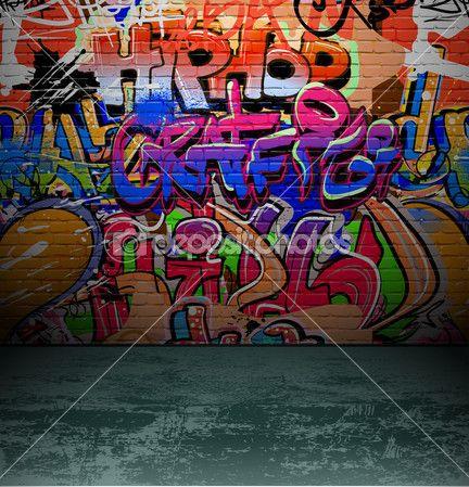 Graffiti Street Art Wall Murals | street wall paintingGraffiti wall urban street art painting Stock ...