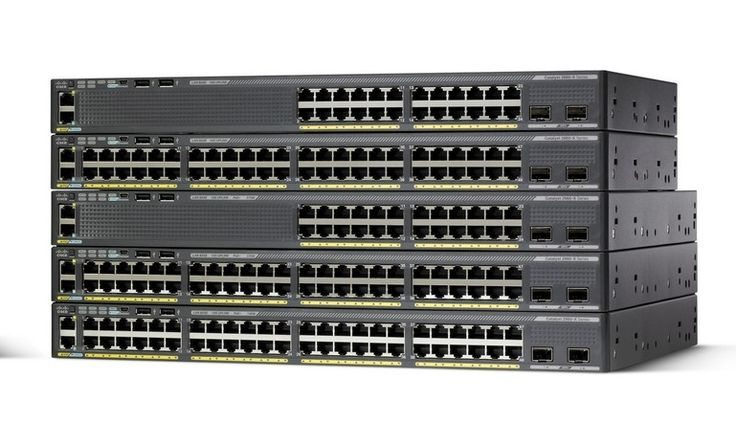 Cisco Switch PN WS-C2960X-24TS-LL