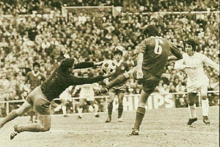 Bilbao (Burgos) contro il Real Madrid. Anni 70