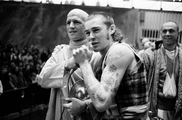 Sharpie & Hare Krishna, Melbourne 1973 | Rennie Ellis Photographic Archive