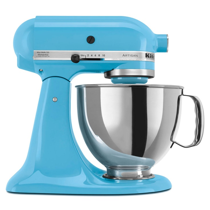 KitchenAid Artisan 5 Qt Tilt Head Mixer In Crystal Blue