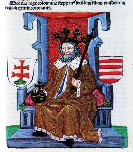 Stefan II King of Hungary. Istvan II.House of Arpad (1116-1131)
