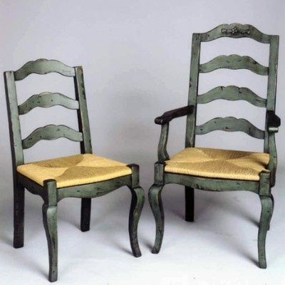 8040 Country French Dining Chairs