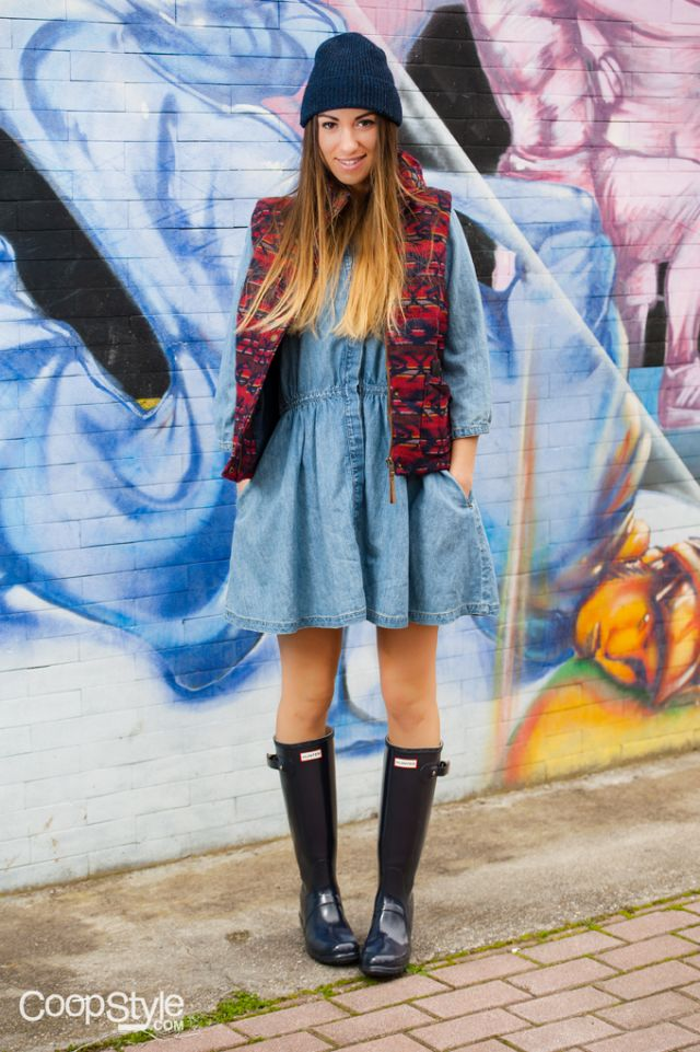 394 best Hunter Boots/Rain Outfits images on Pinterest