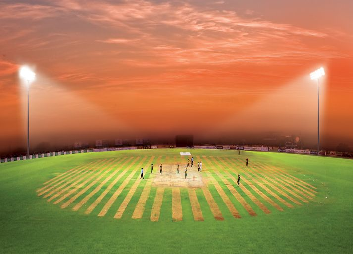 """Mr. Zahir Rana, CEO of True Sports, """"I want to make cricket great for the ones who don't play in the Big Leagues, but have Big Dreams."""""""