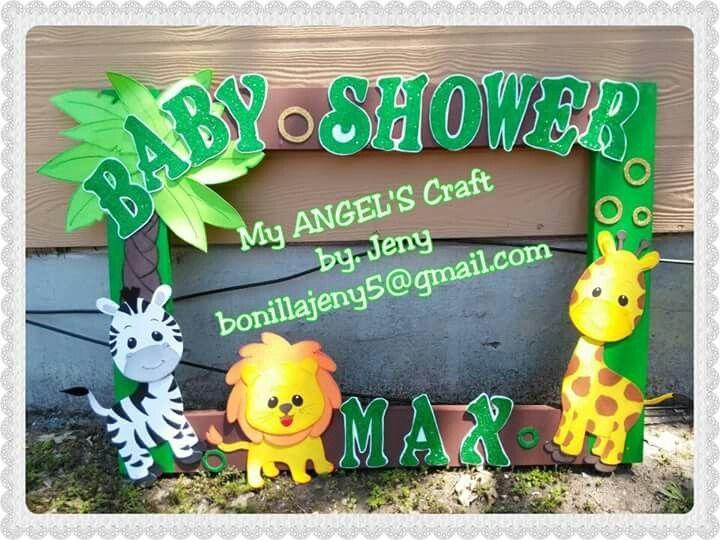 Resultado de imagen para marcos para fotos baby shower