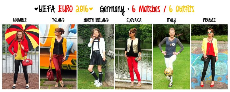 ... to create a special 'Germany inspired' outfit for each German match of the UEFA EURO 2016 France