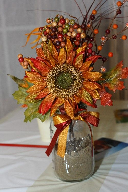 Superior Fall Bridal Shower Ideas | ... Weddings Guides And Videos Fall Bridal  Shower Centerpiece