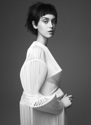 Central Saint Martin graduate Yulia Kondranina's womenswear collection