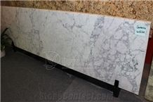 Italy Carrara White Marble Kitchen Prefab Countertops & Worktops