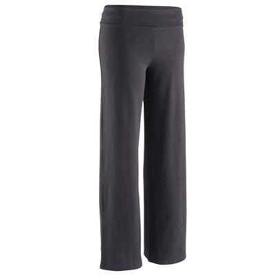 FITNESS Habillement Chaussures Access Domyos - Pantalon coton bio noir DOMYOS - Marques BLACK