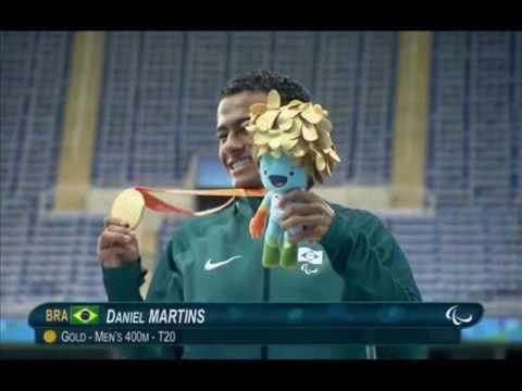 Daniel Martins fica com o ouro nos 400m T20.