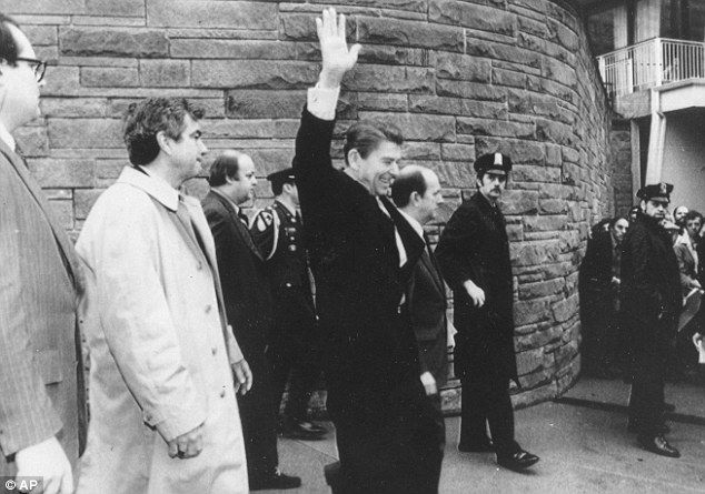 Secret Service agent who saved Reagan's life at 1981 ...