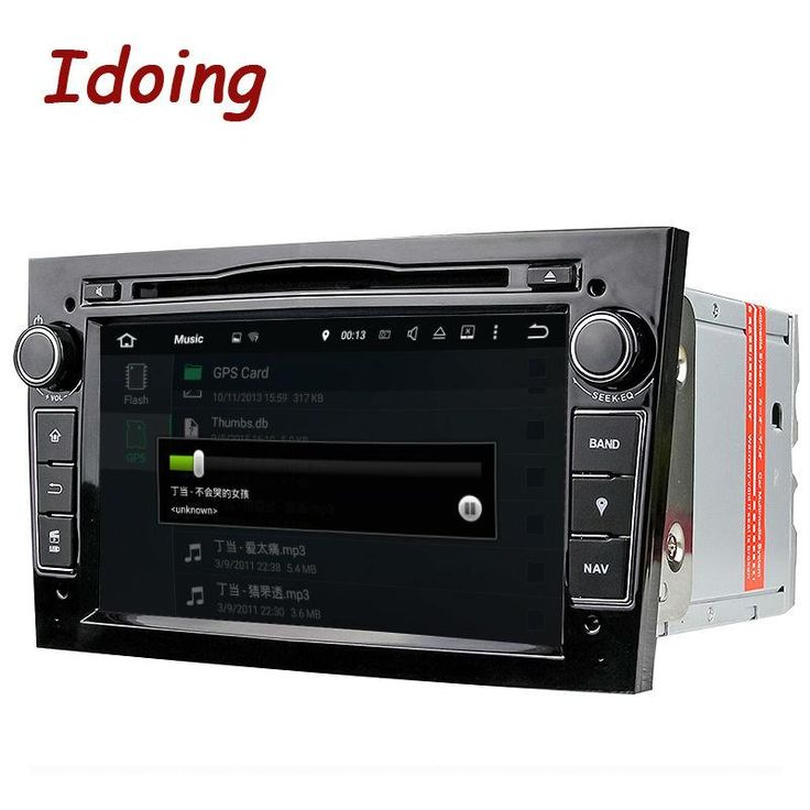 Idoing 2Din Radio Car DVD Multimedia Player Fit Opel Vectra Corsa D Astra H Steering-Wheel Android7.1 Audio touch Screen Video