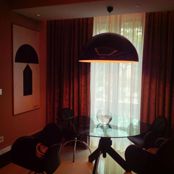 #Flos lighting in some of our rooms at Excelsior Hotel Gallia. #excelsiorgallia #theluxurycollection