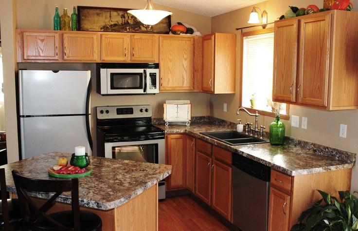Wilsonart Winter Carnival Laminate Kitchen Remodel