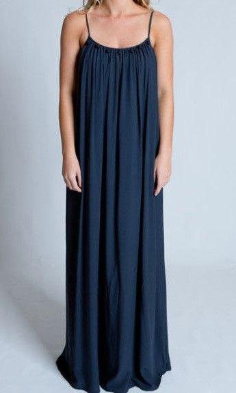 Long Antigua Dress in Indigo our price $49 Sizes 10,12,14 (rrp $160)