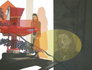 "Saatchi Art Artist Anna Caruso; Painting, ""Untitled"" #art"