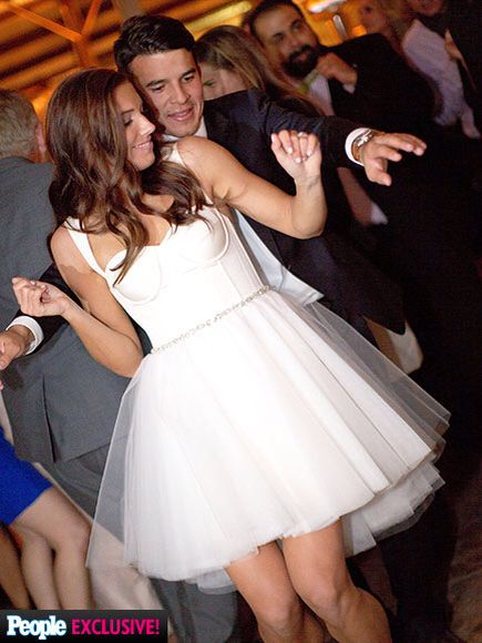 Alex Morgan and husband Servando Carrasco at there wedding!