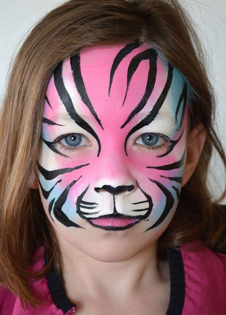die besten 25 tiger schminken ideen auf pinterest kinderschminken tiger professioneller. Black Bedroom Furniture Sets. Home Design Ideas