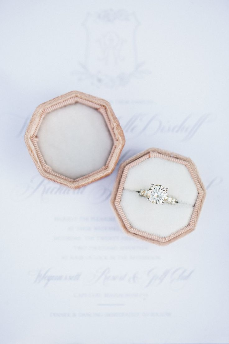 engagement ring whitney bischoff wedding the bachelor | Photography: Carly Miche...